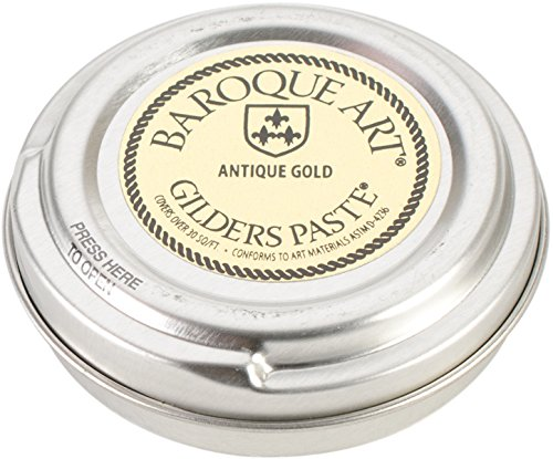 Baroque Art Gilders Antique Gold Paste - 1.5 oz. Computers, Electronics, Office Supplies, Computing by Gilders Paste