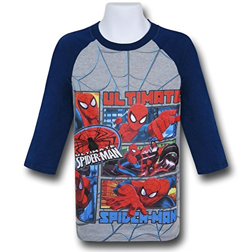 Spiderman Ultimate Kids Baseball T-Shirt- Juvenile (4/5)