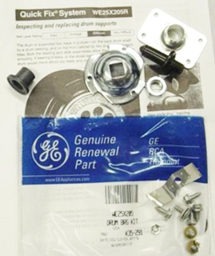 PART # WE25X205 OR AP2619102 GENUINE FACTORY OEM ORIGINAL CLOTHES DRYER DRUM SHAFT AND BEARING KIT FOR GE AND HOTPOINT (FITS PART EA267583, - Shaft Drum Dryer Ge