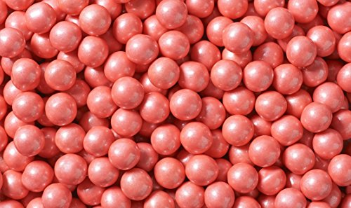 Sixlets Chocolate Balls Shimmer Coral 2 Pound -