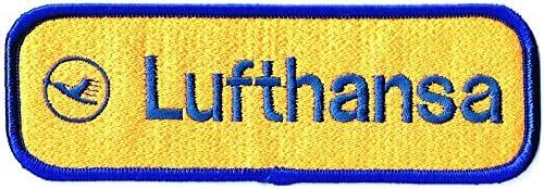 刺繍ワッペン 航空会社パッチ Lufthansa