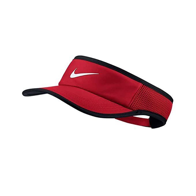 c22ae657 Nike Aerobill Feather Light Adjustable Visor - University Red ...