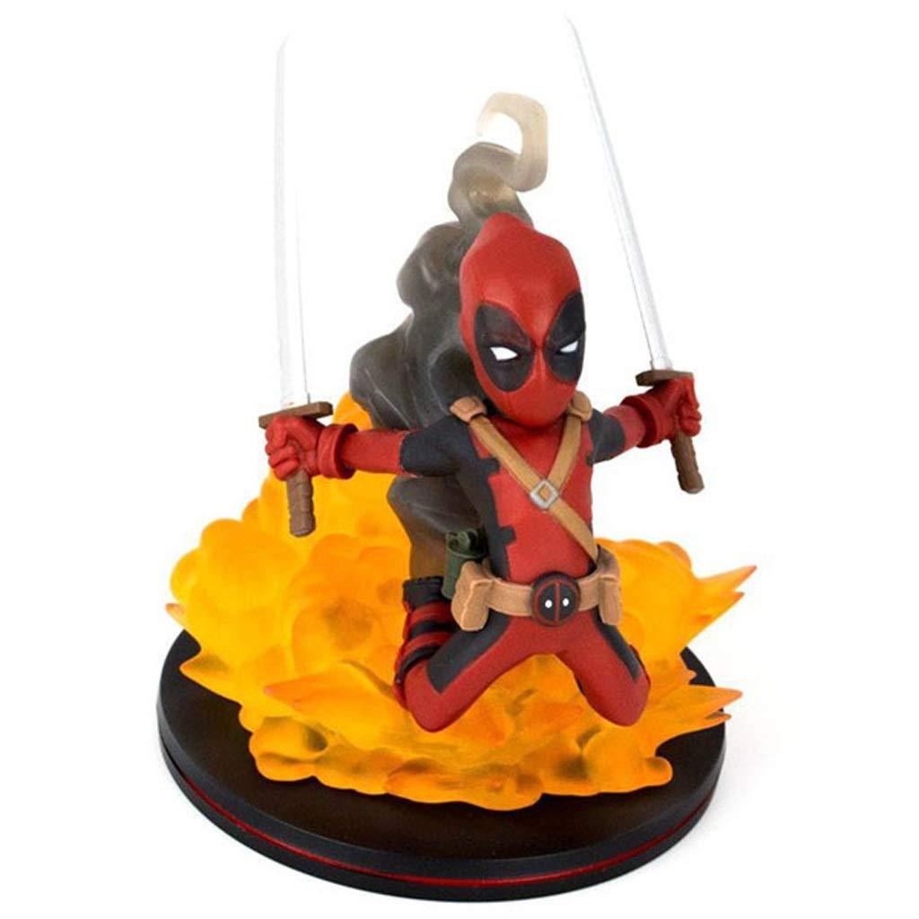 ¡no ser extrañado! rojo SPFOZ Estatua de Juguete Estatua De Juguete Juguete Juguete Modelo De Juguete Película Personaje Regalo Decoración Regalo De Cumpleaños 10 CM (Color   rojo)  moda