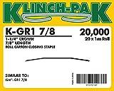 K-GR1-7/8, GR1 Roll Staple (1,000 Staples Per Roll) (20 Rollls Per Case) - AXXIS-K-GR1-7/8