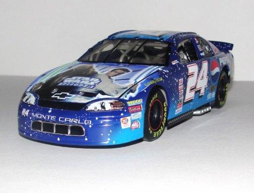Action - Nascar - Jeff Gordon #24 - Pepsi Racing / Star Wars Episode I - 1999 Chevrolet Monte Carlo - 1:24 Scale Stock Car -