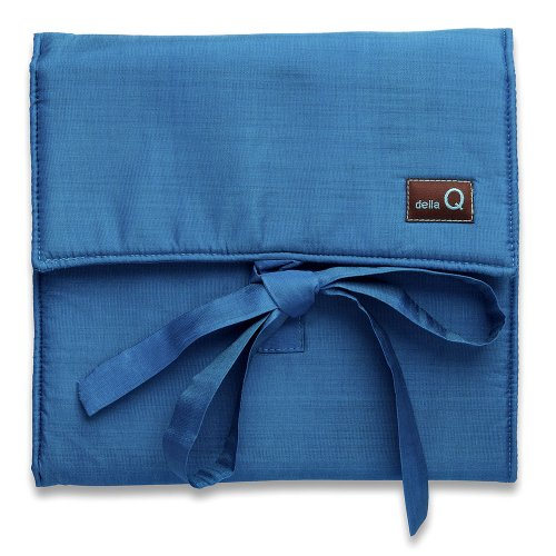 della Q The Que Knitting Case for Standard-Size Circular Knitting Needles; 044 Ocean 145-1-044 by della Q