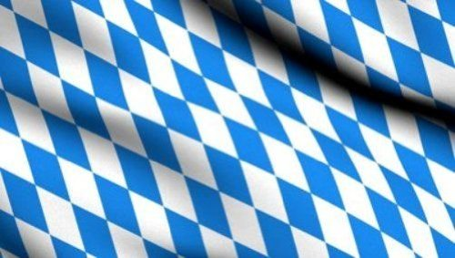 3'x5' BAVARIAN CHECKS FLAG Bundeslnder German State octoberfest banner bavaria