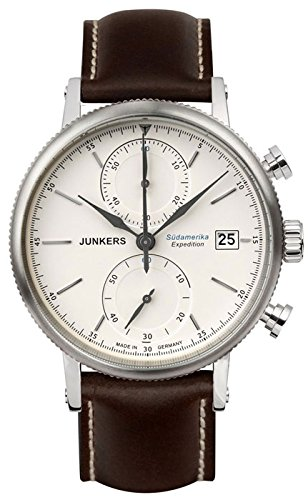 Junkers Series Expedition South America Men's Watch Beige Dial 6588-5
