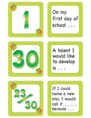 Teacher Created Resources settembre Polka Dots Calendar Days Story Story Story Starters, Lime Border (5083) by Teacher Created Resources | qualità regina  | Prezzo giusto  | Diversi stili e stili  | Qualità Primacy  | Eccellente valore  | La prima serie di speci 332f0b