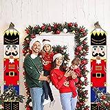 HMASYO Christmas Nutcracker Banner - Nutcracker