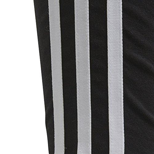 Originals Big Stripes Adidas L 3 nero Leggings da donna bianco YqWfqaZ