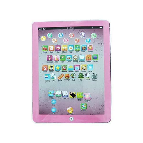 Fcostume Tablette Tactile Enfants educative Jouet Bebe Ordinateurs éducatifs Jouets éducatifs Jouets musicaux Tablette de Lecture pour Enfants Cadeau pour Enfants pour l'éducation 1