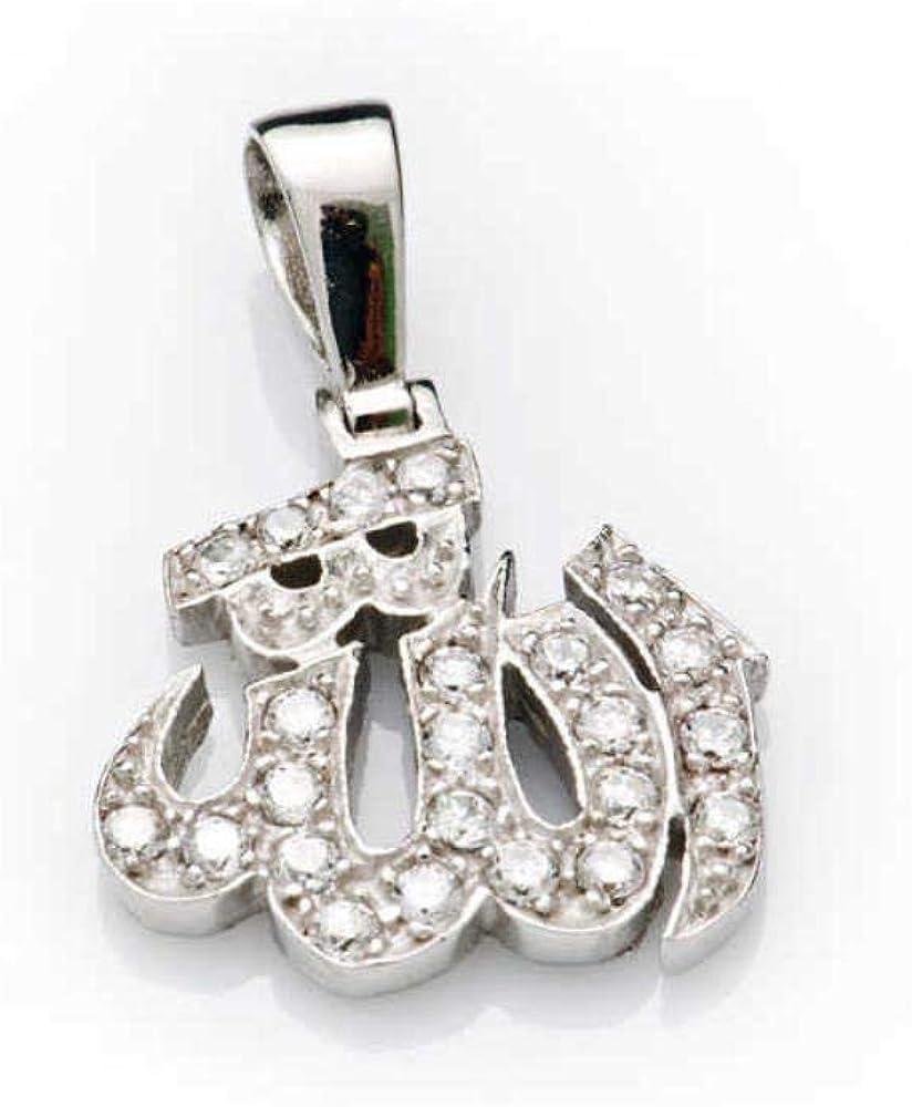 KOKANA Sterling Silver Zircon Stone Necklace
