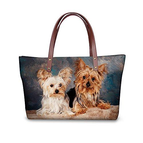 Bages Satchel Tote Top Handle FancyPrint W8ccc1746al Women Vintage Handbags qEHwx7O