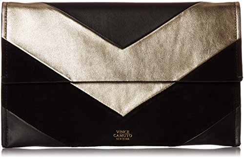 Vince Camuto Fitzi Clutch, Black/Treasure by Vince Camuto