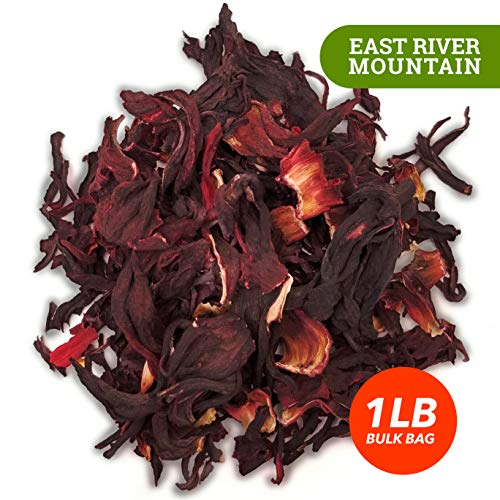 Dried Sifted Hibiscus Flowers (1 LB) - Bulk Bag | Dried Hibiscus Tea