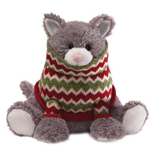 Gund Fun Christmas Sugar Plum Cat 10 Plush by GUND