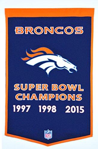 - Winning Streak NFL Denver Broncos Dynasty Banner