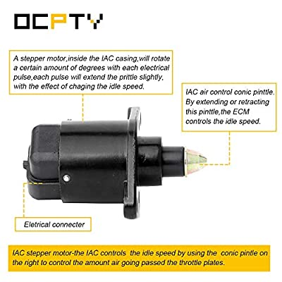 OCPTY 2H1092 Fuel Injection New Idle Air Control Valve FIT for 1997 Dodge Dakota, 1991-1996 Jeep Cherokee, 1991 1992 Jeep Comanche, 1997 Jeep TJ, 1991 1992 1993 1994 1995 1997 Jeep Wrangler.: Automotive