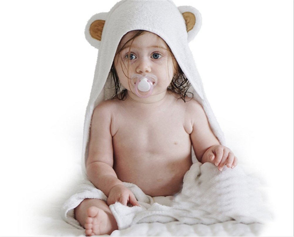 Sanling Natural Cotton Animal Baby Towel