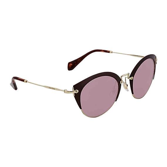 c1b4e060a8a2 Miu Miu Women s 0MU53RS TEP100 Sunglasses