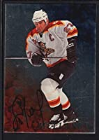 Scott Mellanby 1998/99 Bap Be A Player On Card Autograph Panthers Sp