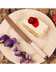 Pearl Cake Knife Set Of 84