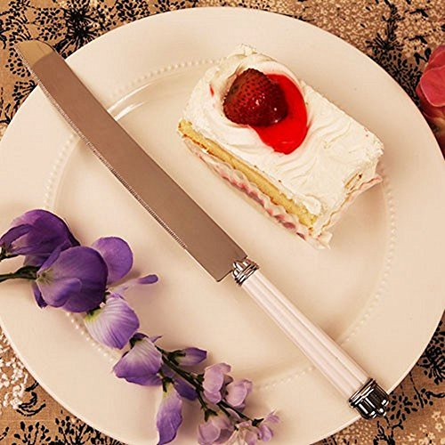 Pearl Cake Knife - Set of 36 by R & B