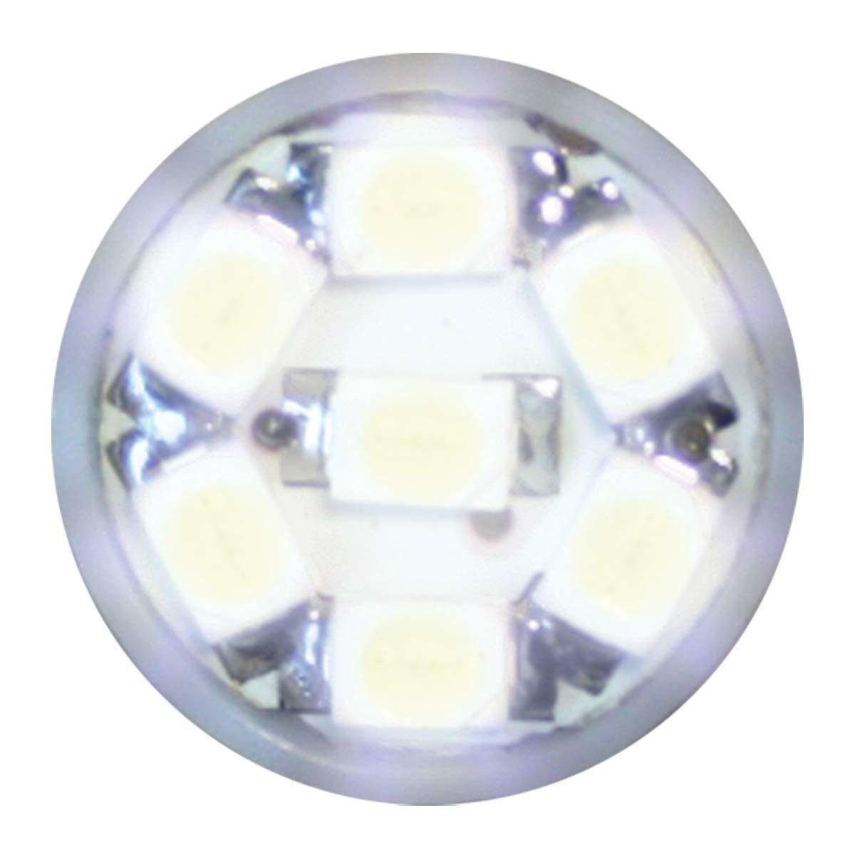 194//168 Green 5-LED Tower Style, 12V, Pair GG Grand General 74912 Light Bulb