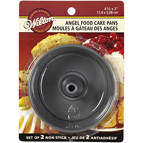 (Wilton 2105-1827 Angel Food Pans, Mini, Set of)
