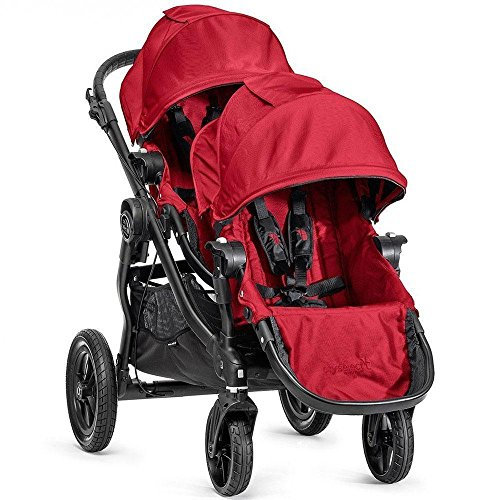 Baby Jogger 2016 City Select Stroller with 2nd Seat – Red