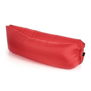 Fast hinchable Camping saco de dormir sofá Hangout poliéster ...