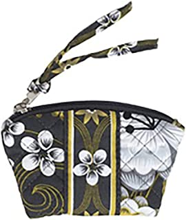 product image for Coin Purse by Stephanie Dawn, Made in USA, Quilted Cotton Fabric, Small Zipper Pouch, Washable, Accessory