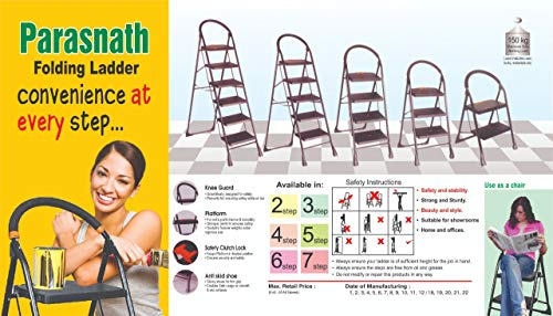 Parasnath-Back-Heavy-Folding-Ladder-with-Wide-Steps-Milano-5-Steps-52-Ft