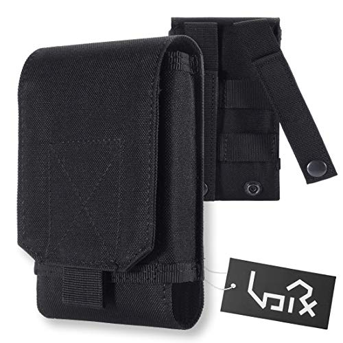 I9100 Phone Cell (Urvoix Black Army Camo Bag For Mobile Phone Belt Pouch Holster Cover Case Size M)