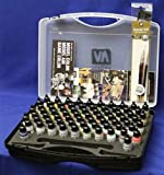 Vallejo Model Air Basic Box Set (72 colours + 3 brushes + carry case) - VAL71170