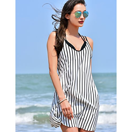 Collection Black Vertical Stripes Swimwear