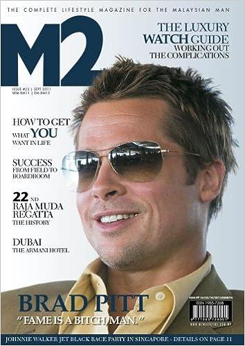 ed7a67d6580c M2 September 2011 Brad Pitt: M2 Entertainment Magazine Malaysian Edition:  Amazon.com: Books