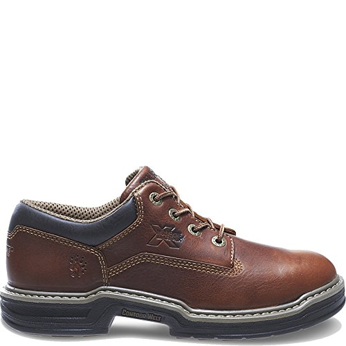 Wolverine Men's Raider Oxford Contour WELT-M, Brown, 11 M US
