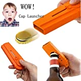 Cap Zappa Beer Bottle Opener,Key Ring,Gift,Cap Launcher Shooter By Spinning Hat Fire Cap Shoot Over 5 Meters,Tuscom For Sale