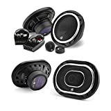 JL Audio C2-650 450W 6.5'' 2-Way Evolution C2 Series Component Car Speakers System +JL Audio C2-690tx 450W 6'' x 9'' 3-Way Evolution C2 Series Coaxial Car Speakers- Bundle Speaker Package