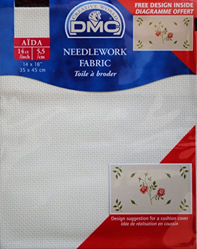 DMC 14 Count Aida Fabric 14x18 Inches  - DC27/10 746
