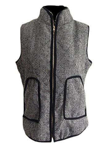 Quilted Sleeveless Vest - 7