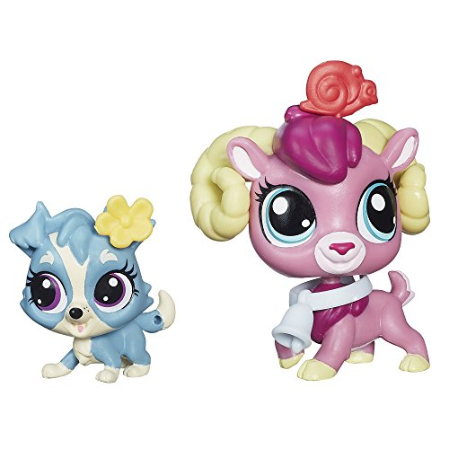 Littlest Pet Shop Pet Pawsabilities Rocco Ramsbottom and Chet Colley Doll