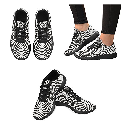 Interestprint Kvinners Joggesko Jogging Lette Sportsgangatletisk Sneaker Mandala Bohem Stil Blomster Multi 7