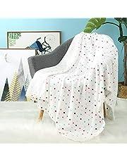 i-baby Couvertures Bébé Filles Garcons Polaire Plaid Enfant Tout-petits Couvertures Flanelle Confort Gros Emmailloter Naissance Quatre Saisons