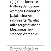 Anmerkungen zur Metamoderne (Edition Uhlenhorst 2) (German Edition)