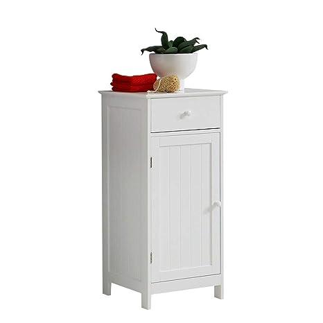 FMD Moebel 905-002 - Armario Alto para baño, Color Blanco