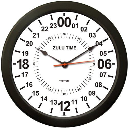 Amazon.com: Trintec 24 HOUR MILITARY TIME SWL ZULU TIME