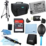 Cheap LP-E8 Battery 10 pc Kit 32gb SD Card & Reader 60″ Tripod Deluxe Case, Lens Cleaning Kit & Pen, Professional Blower, Memory Card Wallet, Micro Fiber Cloth Canon Rebel T5i T3i T4i T2i